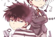 Shinichi and kid