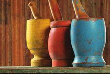 mortar and pestle -graters-havan-rendeler