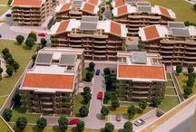 Complesso residenziale Val Melaina Roma, scala 1:333