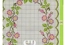 Cross Stitch tablecloths