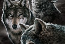 Loup hurlement