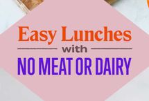 Easy Weekday Lunches