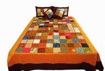 For the Home / Hand crafted designer bedding stuff. Adding comfort and luxury to your home.