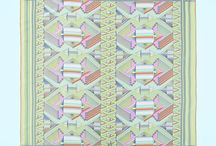 KAI(Japan scarf KAI) / ジャパン・スカーフ「KAI」 - 日本の職人のみの技術で完成したOKANOのスカーフ すべてが日本の職人の手によって実現する、0.1mmの緻密な紋様、目の覚めるような発色。 紋様は777年受け継がれる、博多織の代表的な献上柄をモチーフ。