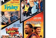 Ice Cube 4 DVD Film All About the Benjamins Friday Next Friday Friday After Next / Friday is the rarest specimen of African American cinema: a 'hood movie refreshingly free of the semiseriousness and moralism of shoot 'em up soaps such as Boyz N the Hood, yet still true to the inner-city experience. Scripted by rapper Ice Cube, Friday is a no-frills tale of a typical day in the life of a pair of African American youth in South Central. Cube plays Craig,