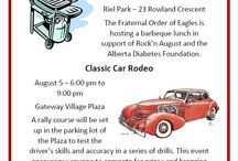 Rock'n August / Rock'n August is one of the most looked forward to events in Western Canada. Featuring over 600 old cars, the event spans for almost a week, and takes individuals back to the 50's/60's