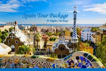 Spain Holiday Tour Packages / Europe Group Tours offers Holiday Packages for Spain at affordable prices.