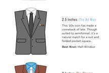 Ties Styles & Info-graphics