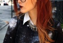 Heiße haarfarben