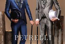 Luxusné pánske obleky Petrelli