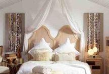 TESTATE IN LEGNO / Idee per la decorazione delle camere da letto con testate di legno.