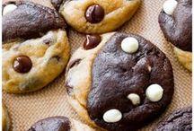 DOUBLE CHOCOLATE SWIRL COOKIES