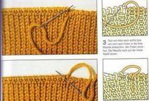 ÖRGÜ TEKNİKLERİ-knitting techniques
