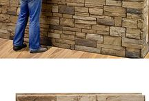 Stone designs for basement