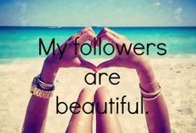 My Followers♡ / ♡For all of my followers. Please pin!! Post selfies. Ask for shoutouts!♡