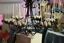 {Cake pops} Display and ideas