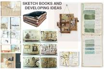 Sketch book inspiration / Ideias para lazer nos meus sketchs.