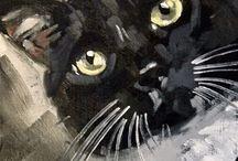 If you love cat art