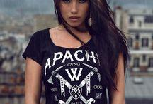 Kolekcja dla Niej - Wicked One Polska / Więcej na: http://wicked-one.pl/koszulki/59-t-shirt-apache-noir.html