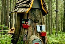Fairy Houses & Related