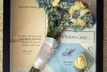 Wedding Keepsakes / Great wedding keepsakes to remember your special day