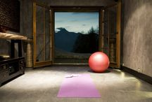 Meditation Spaces / Clean, wood, comforting / by Penny Mixhau