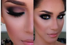 Bridal MakeUp Ideas! / Makeup to show brides and brides maids.