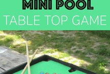 DIY pool table