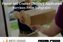 Parcel And Courier Delivery Application Services From Infograins