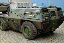 army: pantservoertuigen