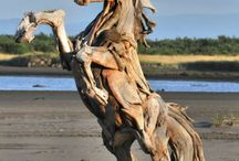 alive wood / Inventive and artistic wood. Great examples of #sculpture #design #art #learn #examples #gallery #inspiration #trees