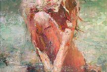 Schilderijen vrouwen