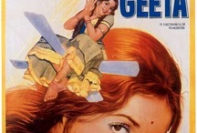 Classic Bollywood film posters / by Vaseem Khan, author THE UNEXPECTED INHERITANCE OF INSPECTOR CHOPRA, a mystery set in India and featuring a baby elephant. This board showcases classic colourful Bollywood film posters