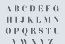 type / fonts and typefaces to love
