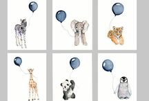Animal for baby room