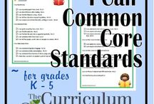 Common core / by Gina Mariscal