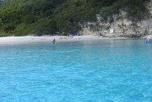 Beaches of Paxoi Islands, Greece