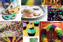 Holiday - Mardi Gras / Food, recipe, DIY and crafts for Mardi Gras!