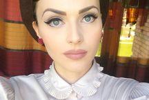 Retro make-up