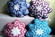 Cojines crochet pillows
