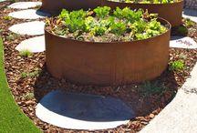 Gardens Planters Raised garden bed