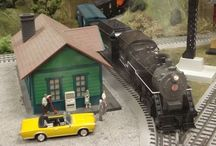 Trains, Trains, and more Trains / Wenham Museum has 10 model train layouts that operate at the push of a button; enjoyed by train fans of all ages. Stop in and visit with our knowledgeable model train engineers.