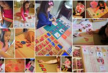 Kindergarten- Montessori Inspired ideas