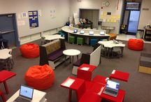 flexible learning spaces / How we can improve our learning spaces to make them more flexible and comfortable.