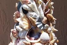 ART FROM SEASHELLS ,WOOD...FROM THE SEA