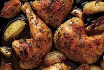 Cuisson du poulet frit