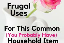 Frugal Living Hacks / Frugal living hacks to help you with your everyday. Start saving time and saving money.