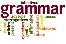 Grammar Terms--Language Lady / by Character Ink & RKWC & Language Lady