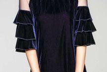 rochii de seara modela noi de catifea