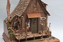 Quarter scale dollhouses